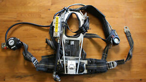 Used Scott 2 2 Air Pack Scba Harness Ez Flo Regulator Vibralert 59