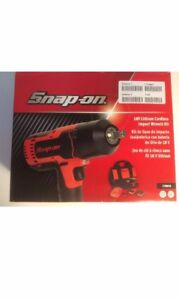 New Snap on Ct8850 Cordless Impact With 2 Lithium Batteries