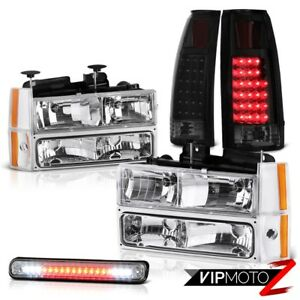 1988 1993 Chevy Truck Z71 Roof Cargo Light Tail Lamps 8pcs Headlight Combo Pair