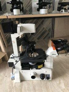 Nikon Eclipse Te2000 u Inverted Microscope g7770 Xh