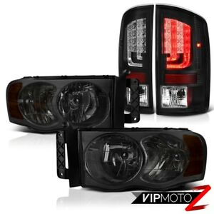 02 05 Dodge Ram 1500 2500 5 7l Taillights Headlights Tron Style Factory Style