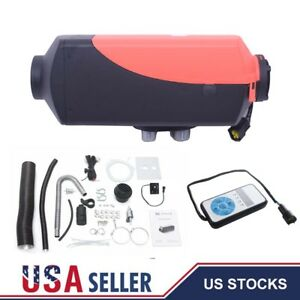 5kw 5000w 12v Air Diesel Fuel Heater For Car Truck Motor home Boat Bus Heating