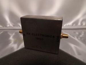 Kr Electronics 1950 Microwave Sma Rf Radio Frequency Bandpass Filter