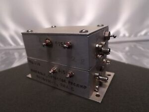 Microwave 9474330 1 Assembly Detector Sma Rf Preamp