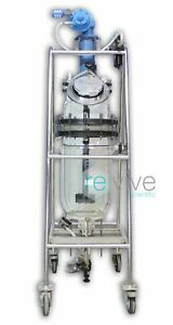 Qvf Jacketed Glass Reactor 20l