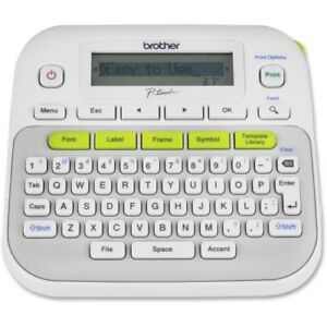 New Brother Ptd210 Pt d210 Label Maker Electronic P touch Easy Compact