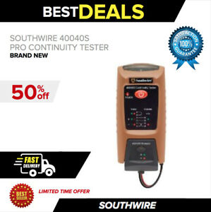 Southwire 40040s Pro Continuity Tester With Remote New Fast Shipping
