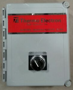 Thermo Electron Web System On off Ssac Rs4a11 120vac Time Delay 201tw