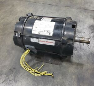 Us Motors 3 Phase 7 5 Hp Electric Motor 184t H19041 3500 Rpm 208 230 460