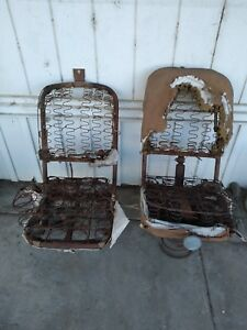 1940s 1950s 1960s Ford Truck Pickup Coe Bucket Seats Chevy Ihc Dodge Studebaker