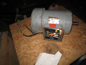 3 Hp Single Phase Electric Motor 1750 Rpm Ajax