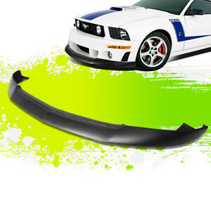 For 05 09 Ford Mustang Gt Ikc Style Front Bumper Chin Lip Lower Spoiler 06 07 08