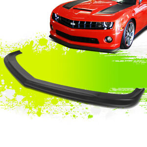 For 10 13 Chevy Camaro 1ss 2ss Ss Zl1 Style Front Bumper Chin Lip Spoiler 11 12