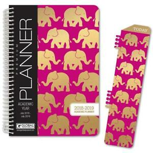 Hardcover Academic Year Planner 2018 2019 5 5 x8 Daily Planner weekly