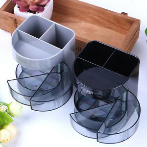 Office Desk Organizer Desktop Pen Pencil Holder Container Storage 3 Drawers 1pcs