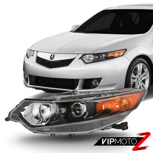 09 14 Acura Tsx hid Model Left driver Side Factory Style Replacement Headlight