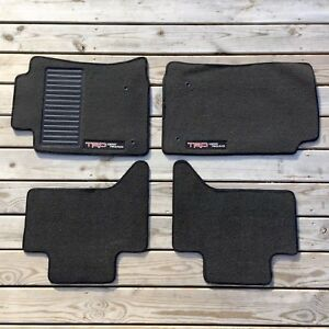 Set Of 4 Toyota Tacoma Floor Mats 2005 2011 Trd Off Road D cab Pt206 35106 05 11
