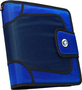 Case it Open Tab Closure 2 inch Binder With File Blue S 816 blu