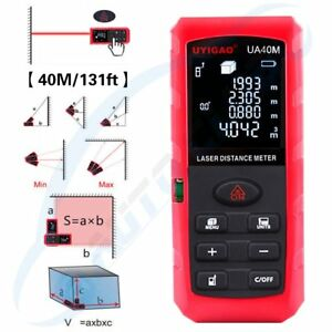 1x Vr Digital Laser Distance Meter Measuring Range As 0 05 40m Unit As M Ft In