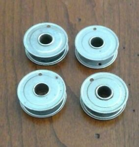 Set Of 4 Vintage White Domestic Kenmore Rotary Sewing Machine 1 Inch Bobbins