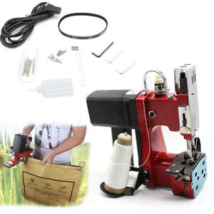 Portable Sewing Machine Industrial Electric Bag Stitching Closer Seal Tool 110v