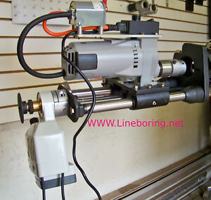 Dixon Portable Line Boring Bb1200 exp With Power Feed 1 1 2 To 8 Inch Capacity