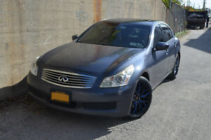 4 Flare 18 Inch Matte Black Blue Rims Fits Infiniti G37x Sedan 2013
