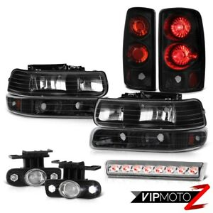 00 06 Chevy Suburban 4x4 Roof Cab Lamp Fog Lights Tail Parking Light Lamps Led