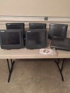 6 Micros Pos System Screen Units
