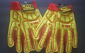 Oil Field Or Mechanic Gloves 2 Pairs New Ringers Gloves Size Xl
