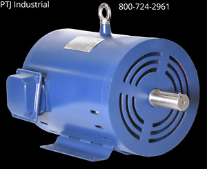 10 Hp 3 Phase Electric Motor 3545 Rpm 213t Odp Replacement For Baldor Leeson