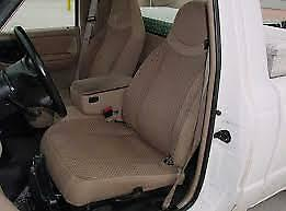 1991 1997 Ford Ranger Explorer 60 40 Bench Seat Car Seat Covers In Gray Twill