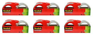 Scotch Sure Start Shipping Packaging Tape 1 88 X 38 2 Yards 2 And pack Of 6