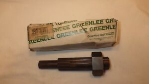 Greenlee Part No 5018570 Draw Stud And Nut For Square Punch New Old Stock 92 Mm