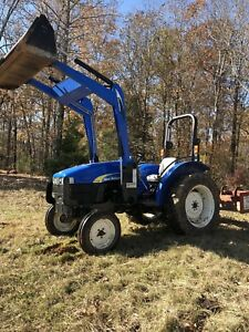 New Holland Tt45 Diesel Tractor With Front Loader