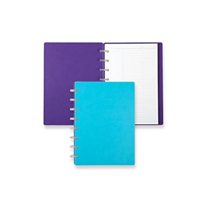 Levenger Circa Reversible Sliver Notebook Slim And Lightweight Junior Ads9790