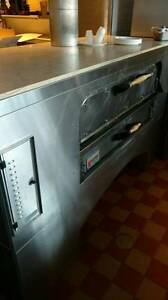 2012 Marsal Sons Pizza Oven natural Gas Model Mb260