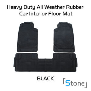 Car Floor Mats Front Rear Carpet Universal Auto Mat All Weather Dustproof