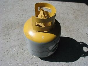 Refrigerant Recovery Tank 400 Psi Rating With Test Date That Has Expired