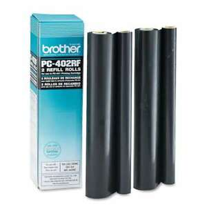 Brother Pc402rf Thermal Transfer Refill Roll Black 2 pk 012502055891