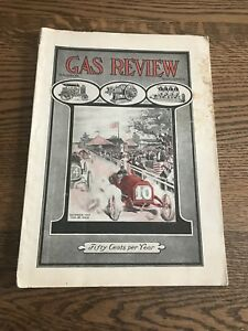 Oct 10 Gas Review Antique Hit Miss Gas Engine Motorcycle Tractor Literature