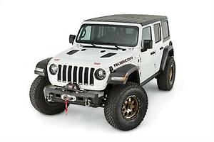 Warn Elite Stubby Front Bumper no Grille Guard 2018 Jeep Wrangler Jl 101325