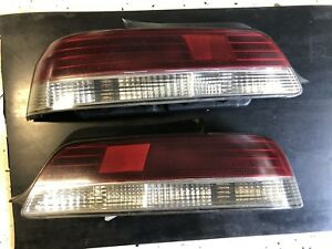 97 01 Honda Prelude Tinted Tail Lights Set