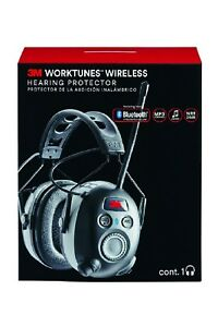 3m Worktunes Connect Hearing Protector With Bluetooth Technology 90543 4dc new