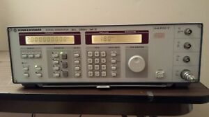Rohde Schwarz Smy02 Synth Signal Source 0 9 Khz To 2 08 Ghz Operational
