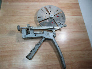 Curtis Locksmith Key Cutter Tool 1960s Ford 1970s Gm