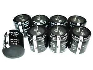 8 New 3300uf 63v 105c Panasonic Capacitors Orion Hcca Amplifier Mains Recap Set
