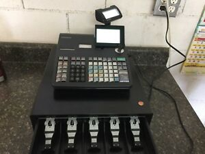 Casio Pcr t2100 Electronic Cash Register