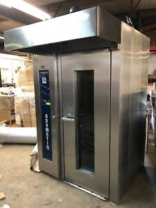 Hobart Adamatic Cro1g Natural Gas Single Rack Bakery Baking Oven Working