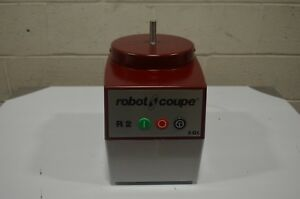 Robot Coupe R2bclr Food Processor With 3 Qt Clear Polycarbonate Bowl 1 Hp